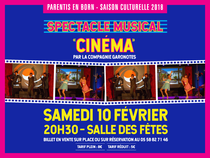 "Spectacle musical ""Cinéma"""
