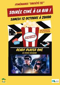 Itinéraires «Société(s)» : Projection du film Ready Player One