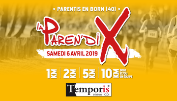 Inscriptions à la Paren'dix 2019